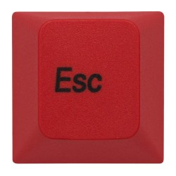Red Esc PBT Keycap
